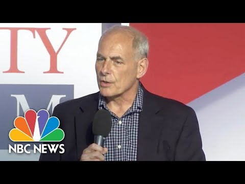 Sec. Of Homeland Security John Kelly: Securing The Homeland In Post-Post 9/11 Era (Full) | NBC News