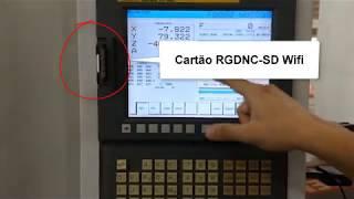 RGDNC-SD WiFi com mapeamento de rede via celular
