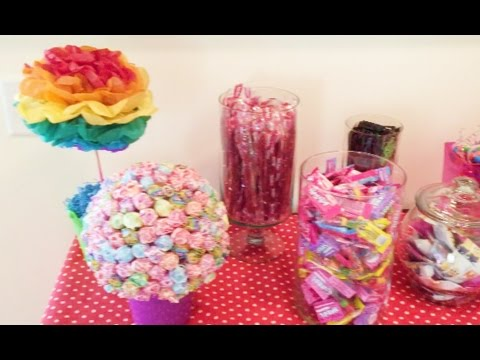 CANDY THEME BIRTHDAY PARTY | DAY 903 | ThePlusSideOfThings