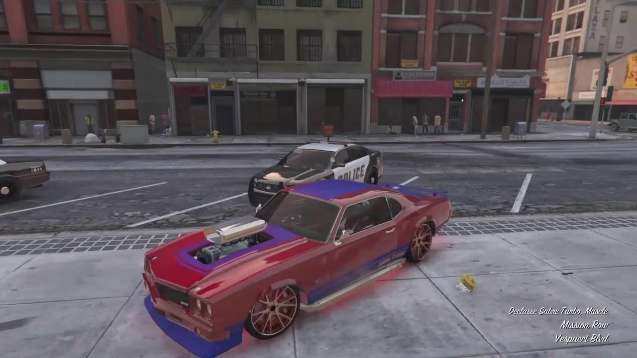 Gta 5 Custom Cars