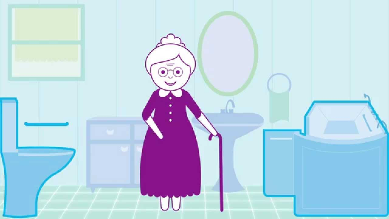 Bathroom Makeover For Elderly senior bathroom makeover - youtube