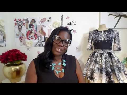 Fashion designers invitation