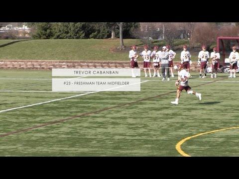 Loyola Academy vs. Glenbrook South - Freshman Lacrosse - #23 Trevor Cabanban - GOAL!!!