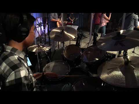 O Praise The Name (Anástasis) - Hillsong Worship | Live Drums (EFreeDB Good Friday 2019)