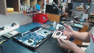 Dell Inspirion 15 thermal paste change