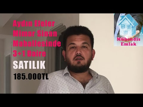 Aydın Efeler Satılık Daire 185.000.-TL ✔️✔️