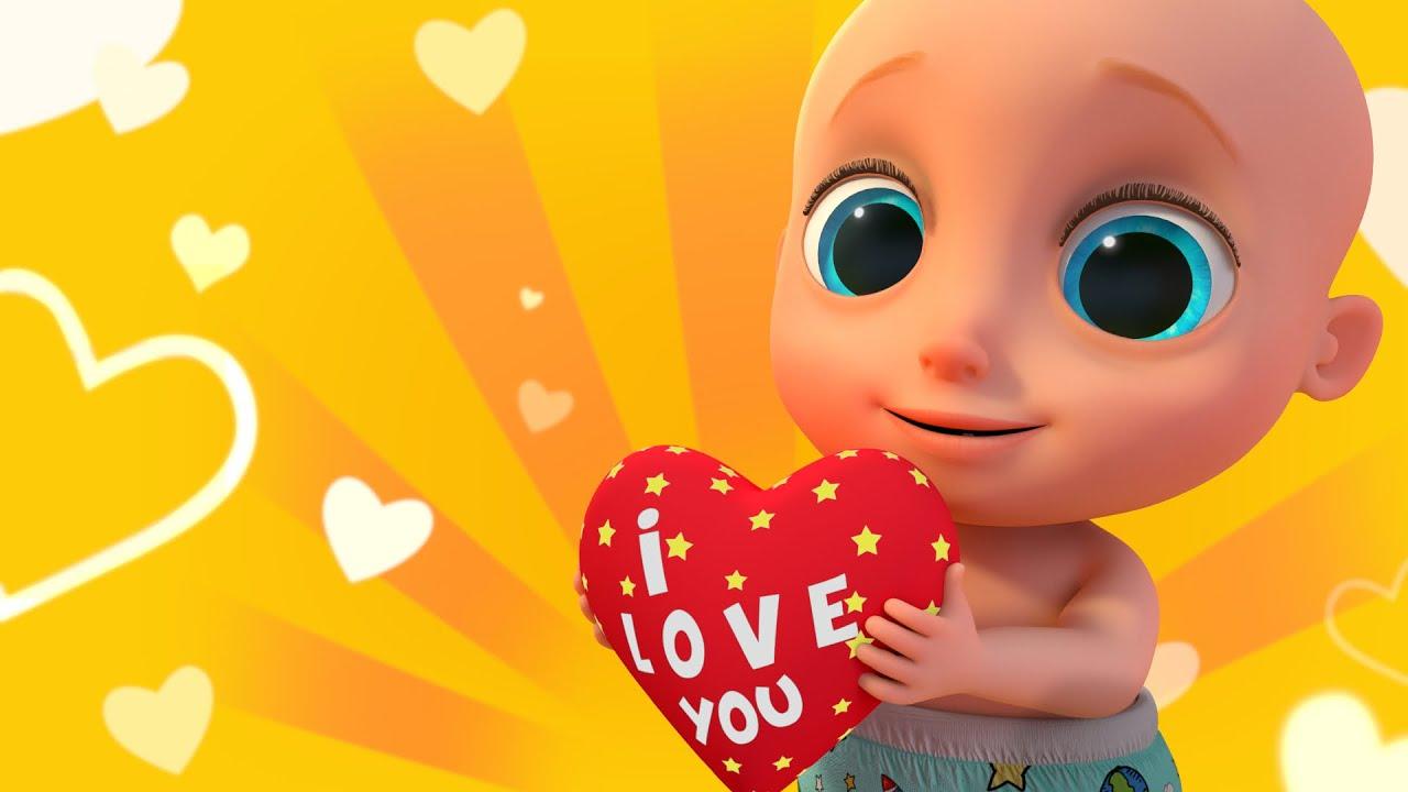 💖Meu Coração Faz Tink Tink | Rimas Infantis Pré-Escolares Para Crianças | LooLoo Kids Português