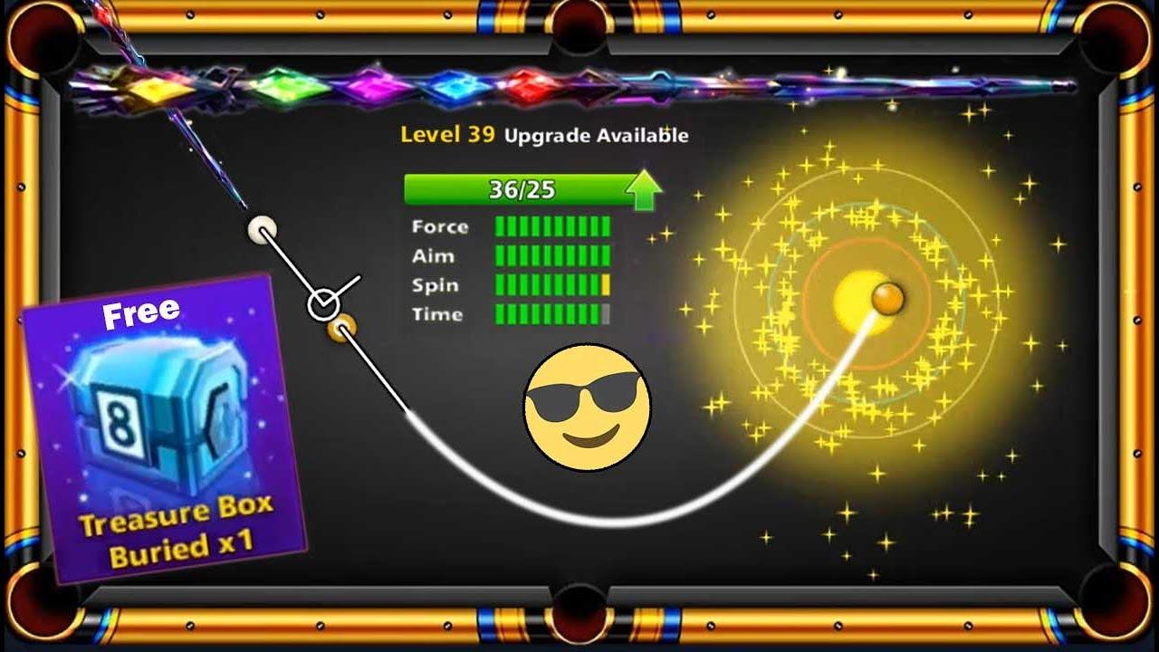 8 ball pool Treasure Box Free 😍 Golden Spin Mission