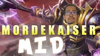 Mordekaiser MID REWORK : PBE Gameplay FR - League of Legends