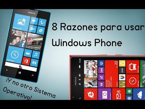 8 Razones para usar Windows Phone