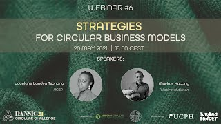 DANSIC21 Webinar #6: Strategies for Circular Business Models