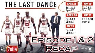 #LastDance #Jordan #Bulls #ESPN WE LIVE!!!  REACTION TO ESPN LAST DANCE EP. 1 & 2