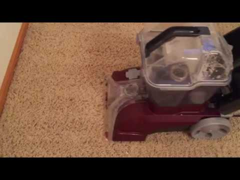 How To Shampoo Your Carpet - Steam Clean Carpet Stains - Clean Carpet For Dummies