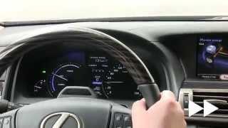 Lexus LS 600h L: działanie napędu hybrydowego