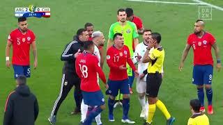 Lächerlich! Messi und Medel fliegen beide mit Rot vom Platz | DAZN