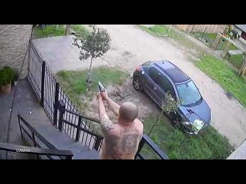 Mató a un ladrón e hirió a otro después de que asaltaran a su sobrino