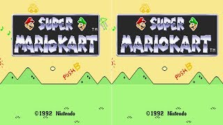 How Super Mario Kart Was Changed Outside Japan