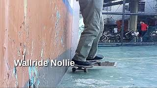 NOSE WALLRIDE SKATE with Vincent Victor 47 dated 111317 Monday Rasac