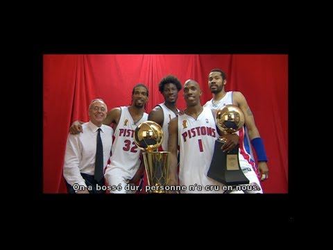 Detroit Pistons, 2004 Champions NBA - VOSTFR