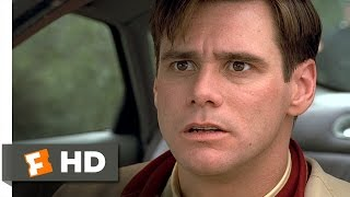 The Truman Show (4/9) Movie CLIP - Driving Through Fire (1998) HD
