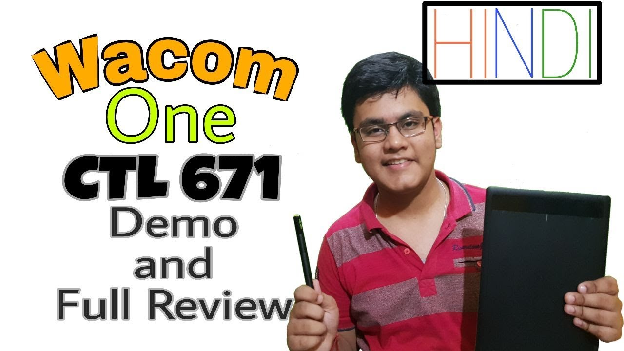 Wacom CTL 671 Unboxing, Demo and Full Review(All Features)