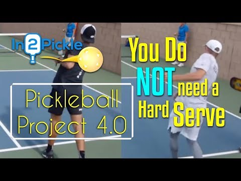 Rip your serve like these guys??? - Not so fast - Project 4.0 - In2Pickle