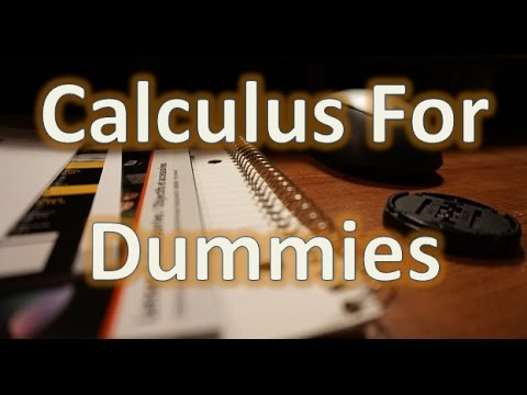 What is calculus? (for dummies) - YouTube