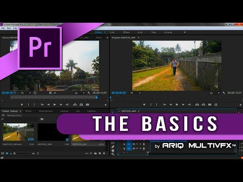Pr TUTORIAL -  Introducing Of Premiere Pro (Indonesian) [REUPLOAD]