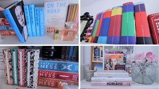 One of booksandquills's most viewed videos: Bookshelf Tour.