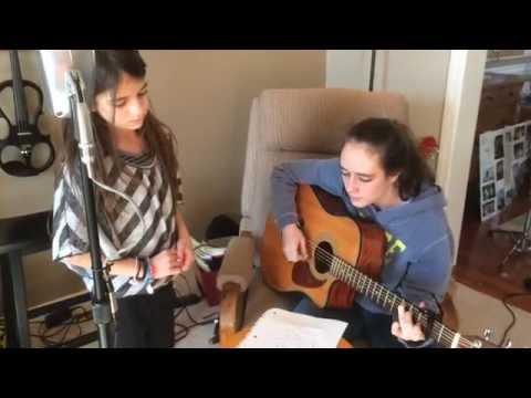Esther singing Sometimes I Wonder, an original song