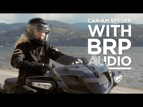 2018 Can-Am Spyder with BRP Audio