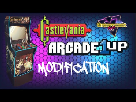 Arcade1Up: CASTLEVANIA MOD!! from Dreamcast Kyle