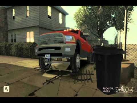 GTA IV Dodge Ram w Diesel & Smoke