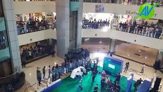 ICC Cricket World Cup trophy arrives in Dhaka Jamuna future Park