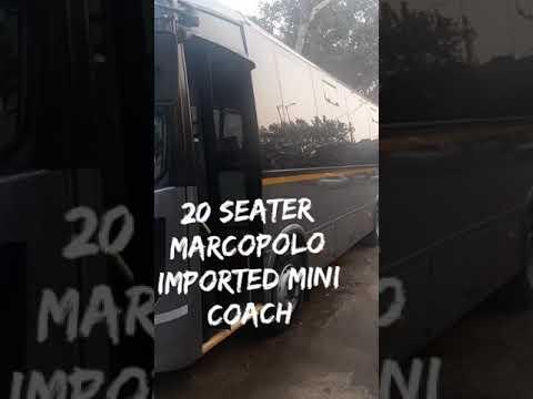 20+1 Seater Made in Brazil Imported Mini Coach Marcopolo Bus Hire in Delhi