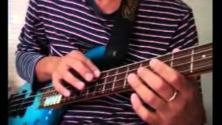 【ビリーシーンスタイル】NV43345パーカッシブ・タッピングの練習法 Billy Sheehan Bass Percussive tapping lick