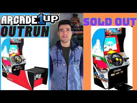 ARCADE1UP OUTRUN CABINET ALREADY SOLD OUT! from Brick Rod