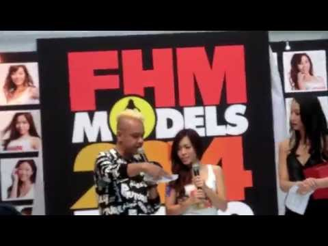FHM SINGAPORE   Model Search 2014 ( Q & A)