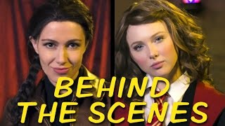 KATNISS vs HERMIONE Behind the Scenes (Princess Rap Battle)