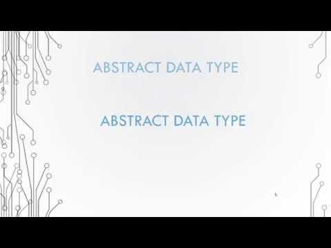 Basic Data Structures 1.2 - Abstract Data Type
