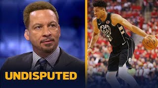 Chris Broussard joins Skip Bayless and Shannon Sharpe to discuss Giannis Antetokounmpo's struggles during the Eastern Conference Finals. Hear him weigh ...