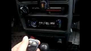 подключение магнитофона через сигнализацию.(, 2012-09-07T09:28:40.000Z)