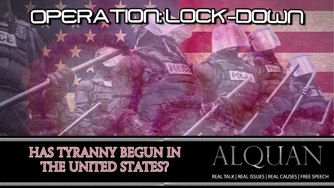 Operation: Lock-Down.  Has it arrived in the USA?