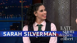 Sarah Silverman Has Tough Love For America