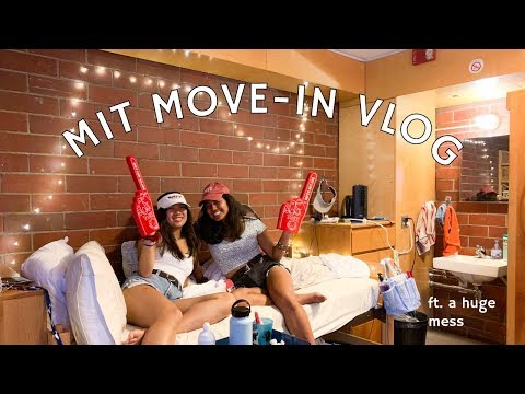 COLLEGE MOVE IN VLOG ~ Mit Edition 2019
