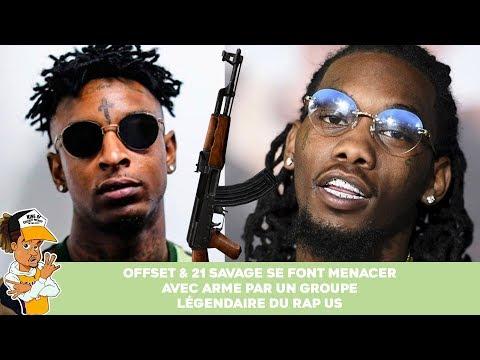 Offset et 21 Savage se font menacer par un groupe légendaire du rap US  !
