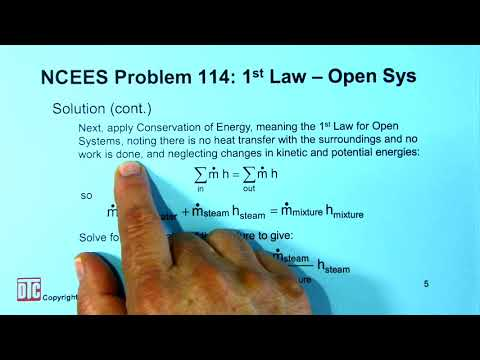 ncees-mech:-tfs-practice-exam-problem-114---1st-law-for-open-systems