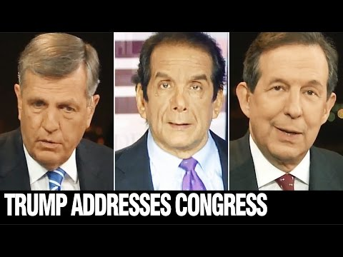 HUME, KRAUTHAMMER, WALLACE, fox Reacts to Speech