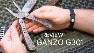 Review - Ganzo Multi Tool G301
