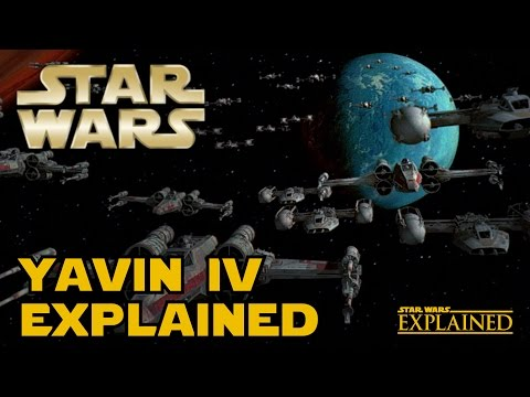 The Canon History of Yavin IV - Star Wars Explained